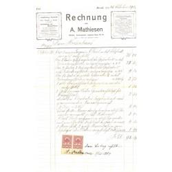A.Mathieseni trükikoja arve...