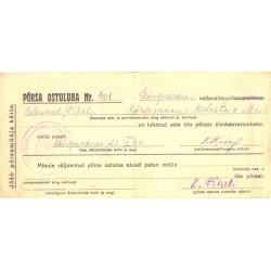 Põrsa ostuluba nr. 401, 1944