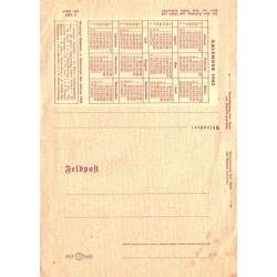 Saksa feldposti kalendriga...