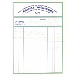 Ühiselu trükikoja arve, 1935