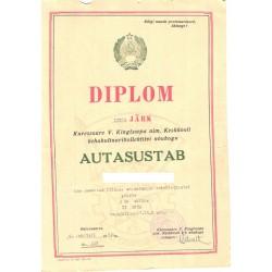 Diplom, II järk Kuressaare...