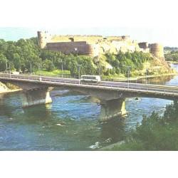 Sõpruse sild Narva jõel ja...