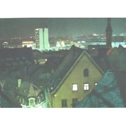 Õhtuse Tallinna üldvaade, 1986