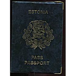 Eesti passi kõvade kaantega...