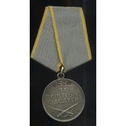 NSVL medal Za bojevüe...