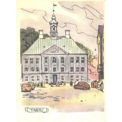 A.Kütt:Tartu:Raekoda, 1960