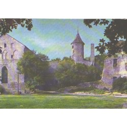 Haapsalu:Linnuse varemed, 1971