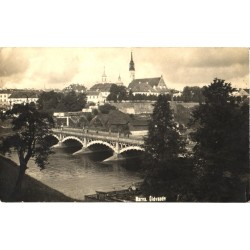 Narva:Sild ja üldvaade, 1925