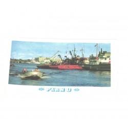 Pärnu kalasadam, laevad, 1976