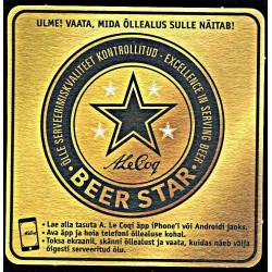 Õlleklaasi alus AleCoq Beer...