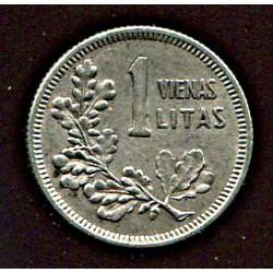 Leedu 1 vienas litas 1925,...