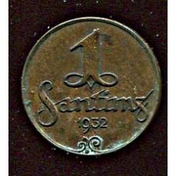 Läti 1 santims 1932, 1...