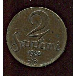Läti 2 santimi 1928, 2...