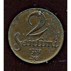 Läti 2 santimi 1932, 2...