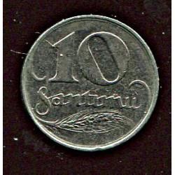 Läti 10 santimi 1922, 10...