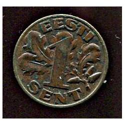 Eesti 1 sent 1929, XF