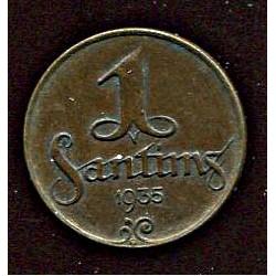 Läti 1 santims 1935, 1...