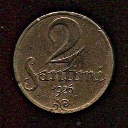 Läti 2 santimi 1926, 2...