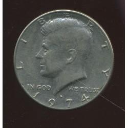 USA half dollar 1974, pool...