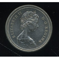 Kanada dollar 1977 kanuuga, XF