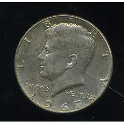 USA half dollar 1967, pool...