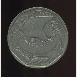 Portugali 50 escudos 1988,...