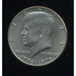 USA:Half dollar 1976, XF