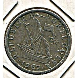 Portugal 5 eskuudot 1967, VF