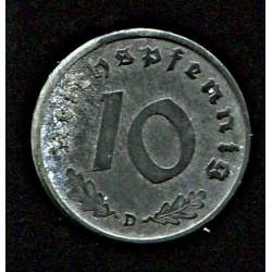 Saksamaa:10 reichpfennig...
