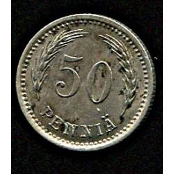 Soome 50 penniä 1921, VF