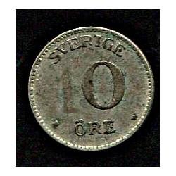 Rootsi 10 ööri 1917, VF,...
