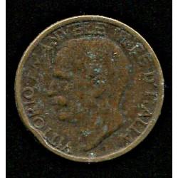 Itaalia:10 centesimi 1921, VF