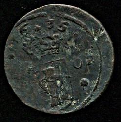 Rootsi 1/4 ööri 1635, VF