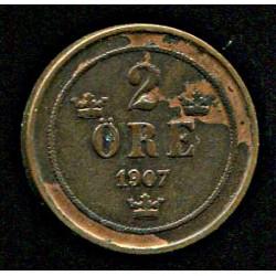 Rootsi 2 ööri 1907, VF