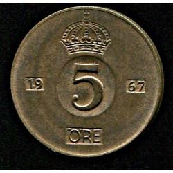 Rootsi 5 ööri 1967, XF
