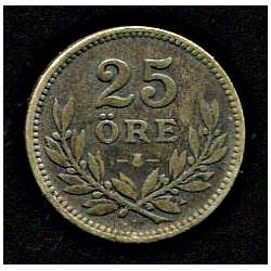 Rootsi 25 ööri 1914, VF,...
