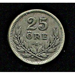 Rootsi 25 ööri 1932, VF,...