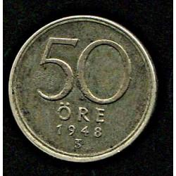 Rootsi 50 ööri 1948, VF,...