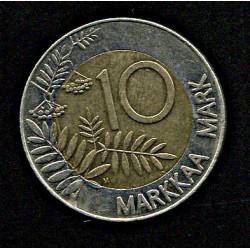 Soome 10 marka 1993, VF