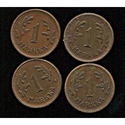 Soome 1 marka 1941, 1942,...