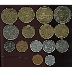 Soome mündikomplekt:2x1,...