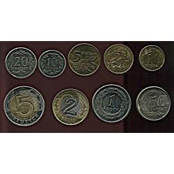 Poola mündikomplekt:1, 2,...