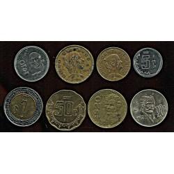 Mehhiko mündikomplekt:3x5,...