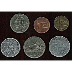 Rumeenia mündikomplekt:1,...