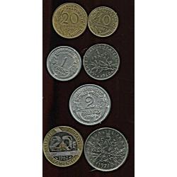 Prantsuse mündikomplekt:10...