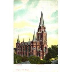 Tartu:St. Petri kirik, enne...
