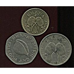 Ghana mündikomplekt:50, 200...
