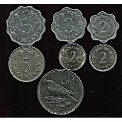 Malta mündikomplekt:2, 3 ja...