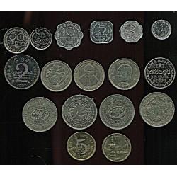 Sri Lanka mündikomplekt:1,...