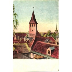 Tartu:Üldvaade kirikuga,...